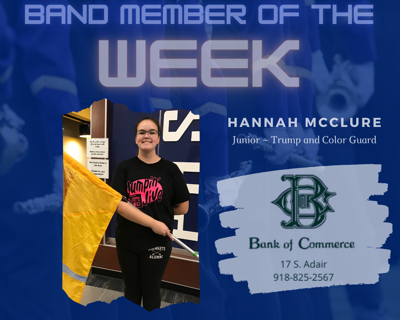 band member of the week
