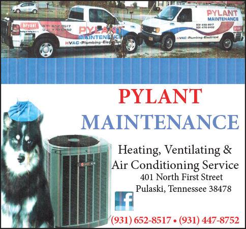 Pylant Maintenance Ad