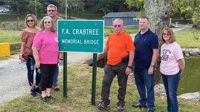 Crabtree Bridge Dedication