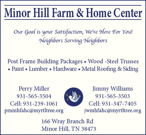 MH Farm Center Ad