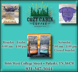 Cozy Cabin Ad