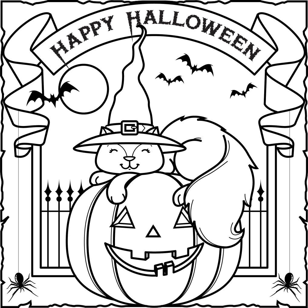 Halloween Coloring Contest 2020