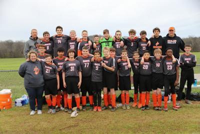 RMS Boys' Soccer Team Photo