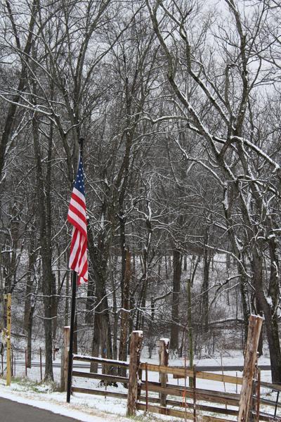 Flag Snowfall