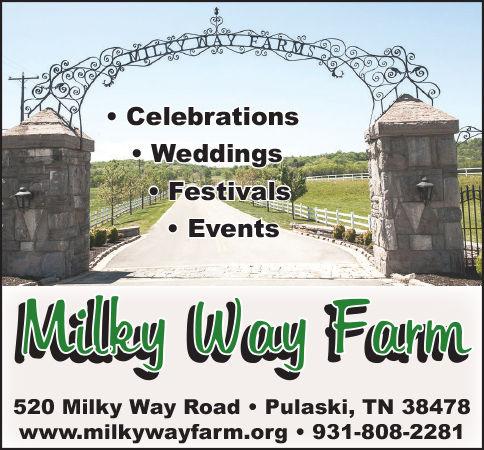 Milky Way Farm Ad