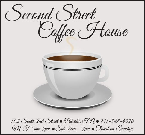 Second Street Coffee Ad