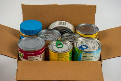 Canned food box