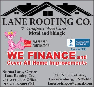Lane Roofing Ad