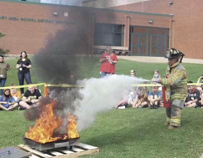 Punxsy students learn about fire safety