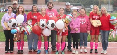 Girls soccer senior day 2021