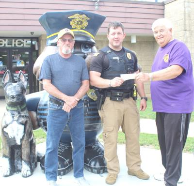 Lions donation to police