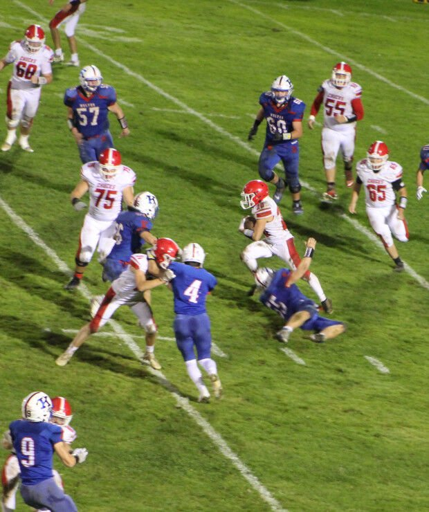 Rumble up north: Punxsy Chucks football falls short on offense in 29-0 loss to Kane