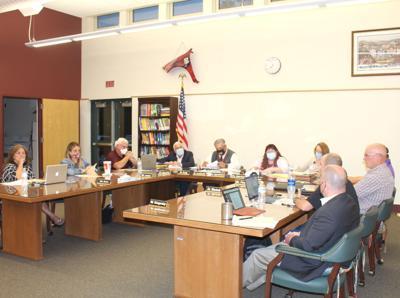 School board meeting 9/9