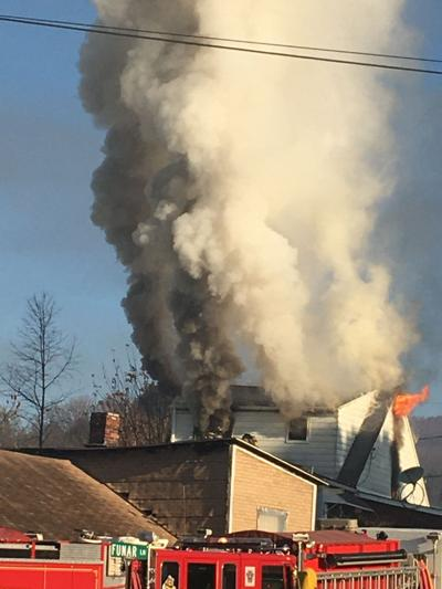 Multiple fire departments, including all three Punxsy units report to fire in Walston