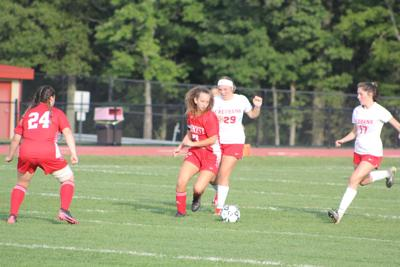 Powell and Bish break scoreless affair to give Lady Chucks soccer win over Redbank Valley