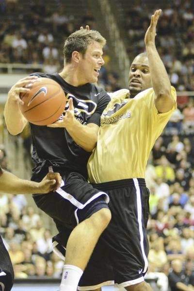 8/4/12 Basketball Alumni Game, Chris Kramer