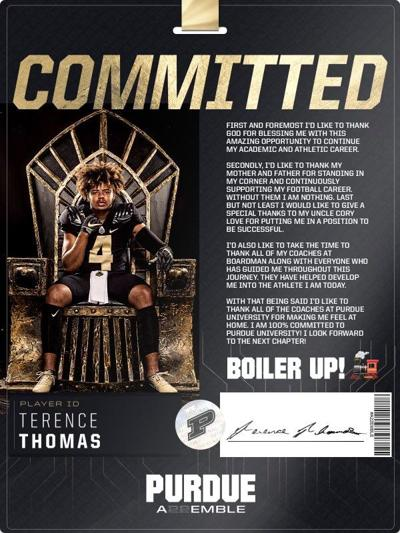 6/27/21 Terence Thomas commitment graphic