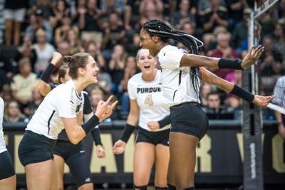 10/20/17 Penn State, Ashley Evans Danielle Cuttino