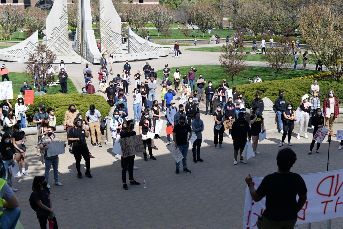 4/16/21 AAPI Rally, Crowd at Hovde