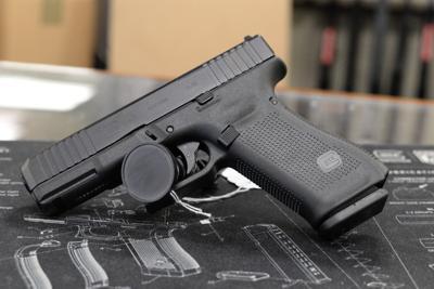 3/3/21 Hand guns from gun store, Glock 45