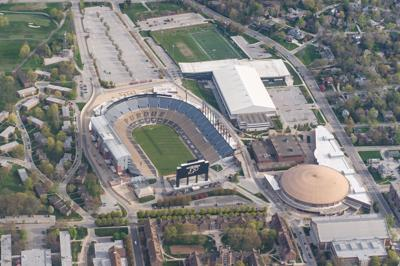 4/18/21 Purdue from Above, Athletics Facilities
