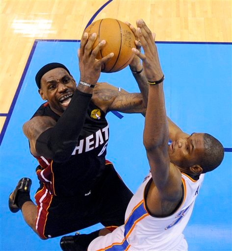 sale retailer 5b6fd d0dbc 6 14 12 Heat vs. Thunder, LeBron James, Kevin Durant