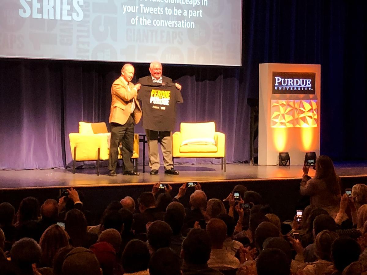 4/2/19 Sonny Perdue Agriculture Talk, Mitch Daniels, Sonny Perdue