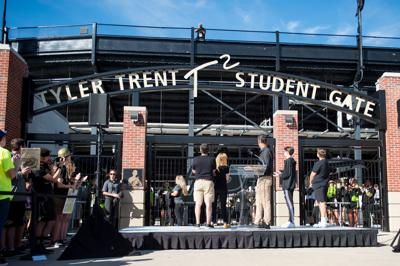 9/7/19 Tyler Trent Gate opening, gate unveiling