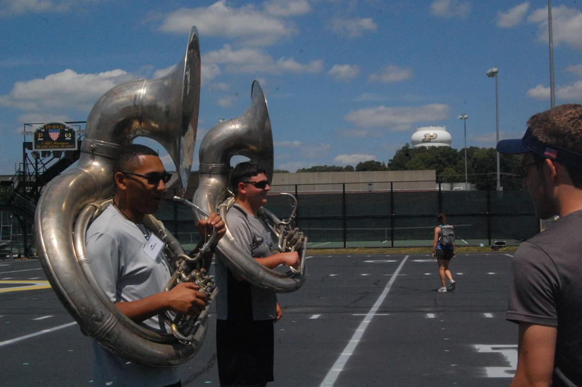 8/9/19 Marching Band Leader Camp, Brian Arzola