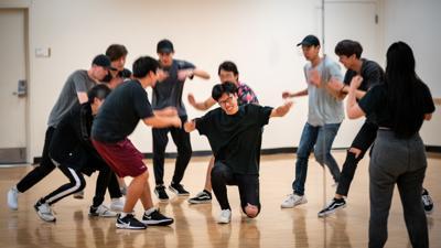 VariAsian K-pop cover dance group rehearsal