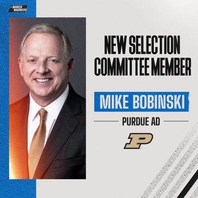 Mike Bobinski appointed to Men's Basketball Committee