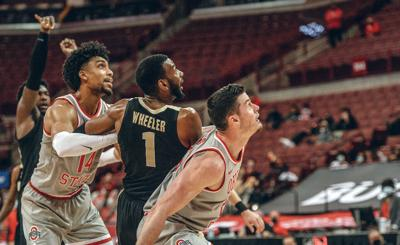 1/19/21 Ohio State, Trevion Williams, Aaron Wheeler, Justice Sueing, Kyle Young