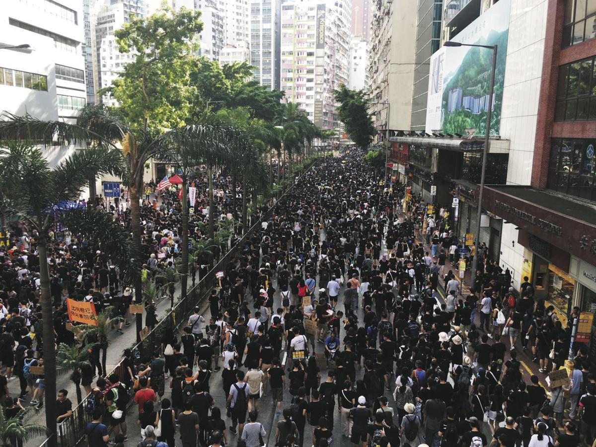 8/28/19 hong kong protestors