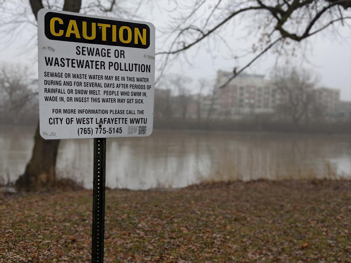 1/16/20 Wabash flooding sign
