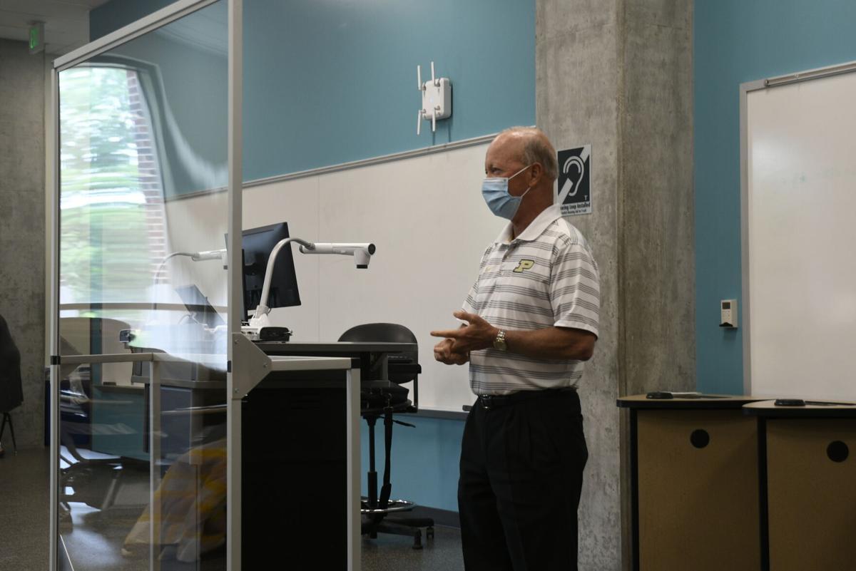 7/15/20 Purdue Polytechnic High School, Purdue president Mitch Daniels