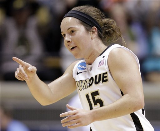 3/17/12 Courtney Moses vs. SD State, Women's NCAA Basketball Tournament