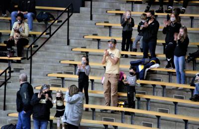 2/6/21 Northwestern, Fans
