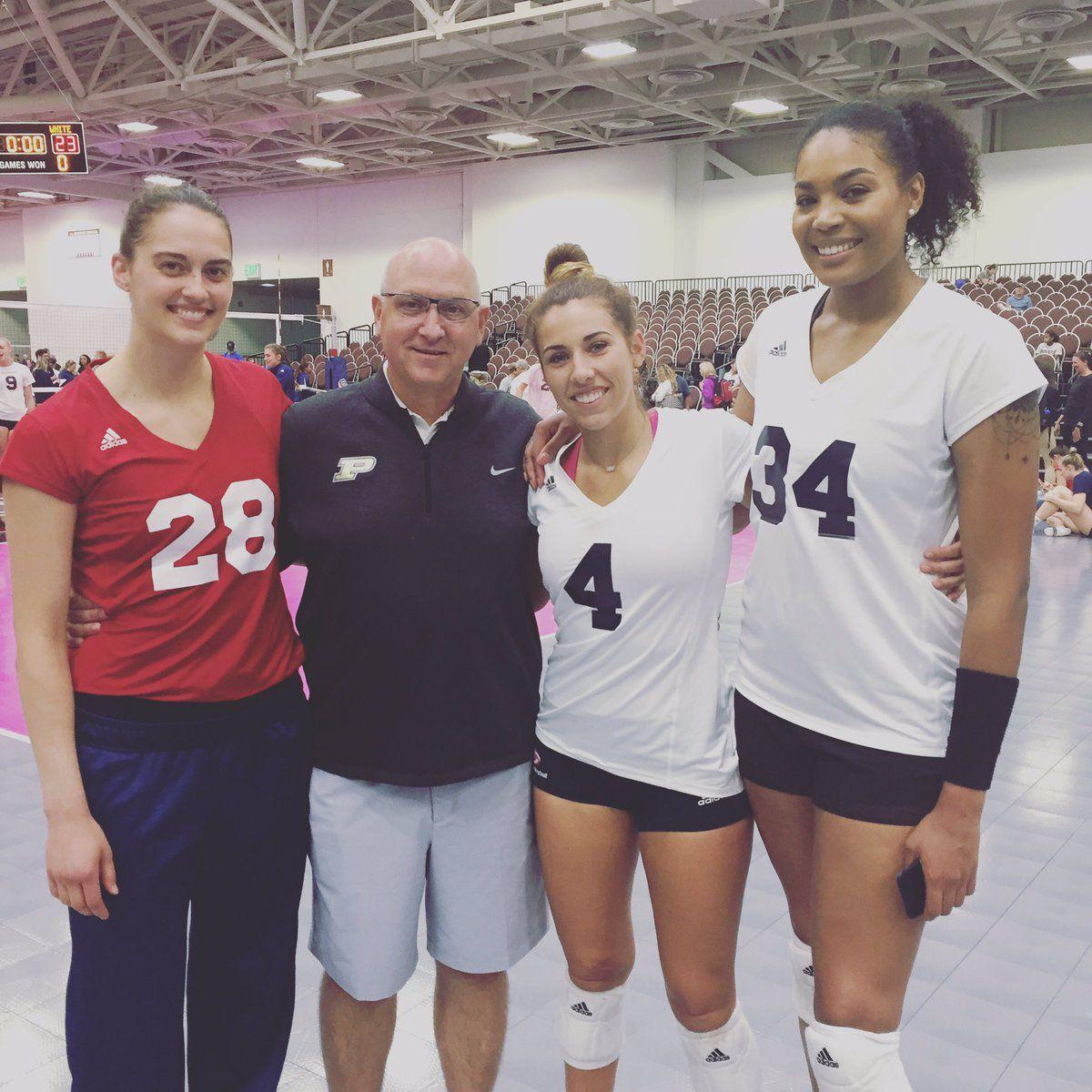 Ashley, Brooke, Sherridan, Dave Team USA