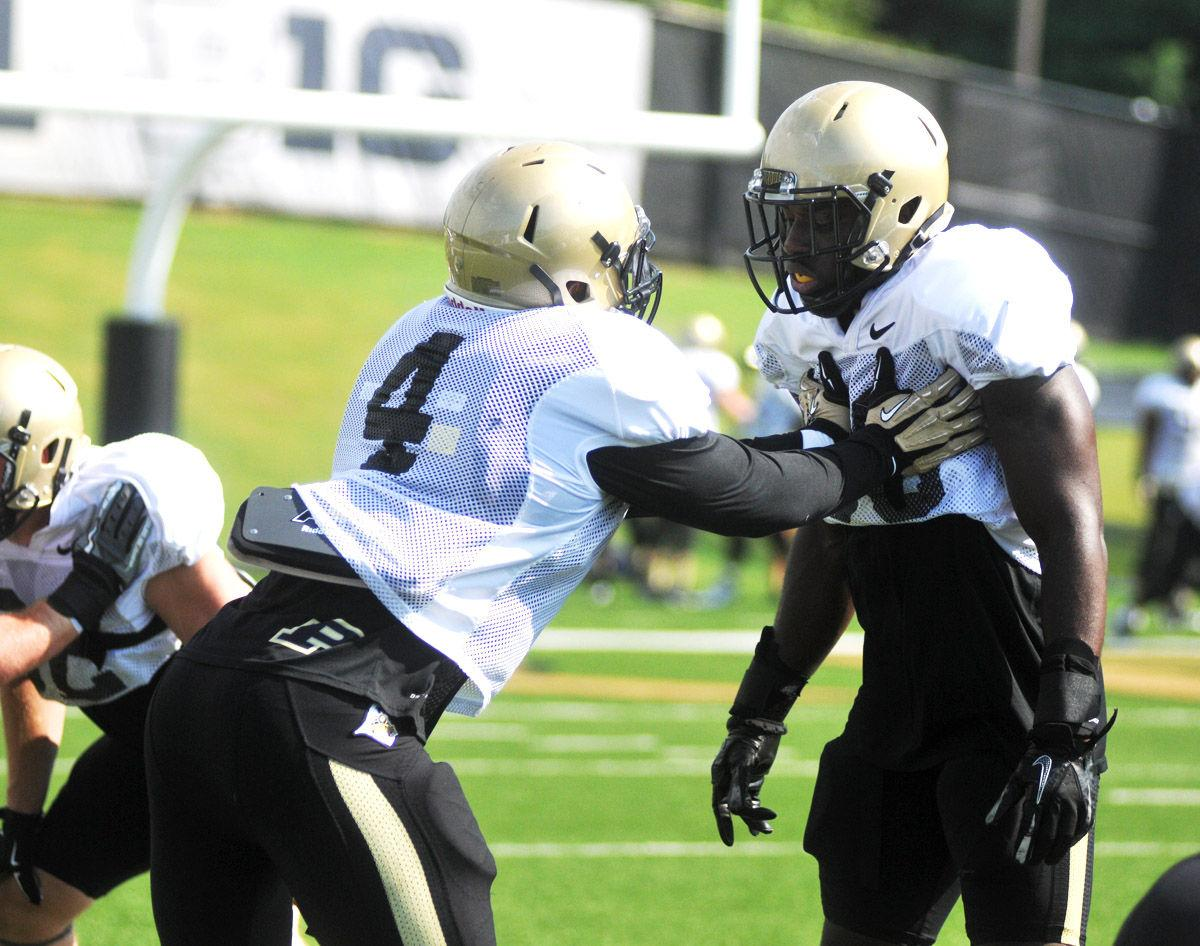 Purdue Football Camp Day 4 Young Linebacking Corps Looks To Prove Itself Sports