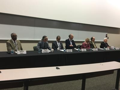 Panelists and former senator discuss global food security