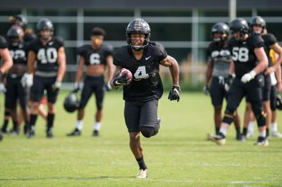 9/11/19 Football Practice Rondale Moore