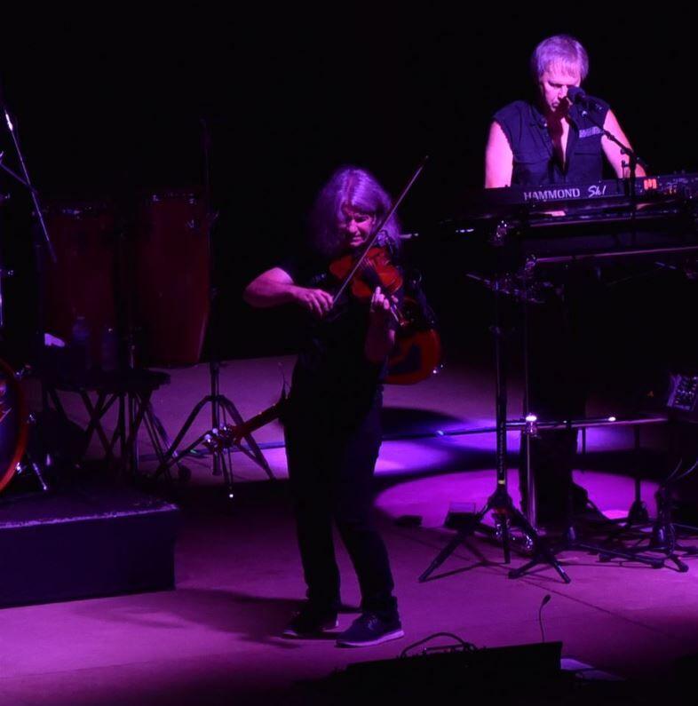 09/11/21 Kansas performs at Tippecanoe Amphitheater, Violinist David Ragsdale