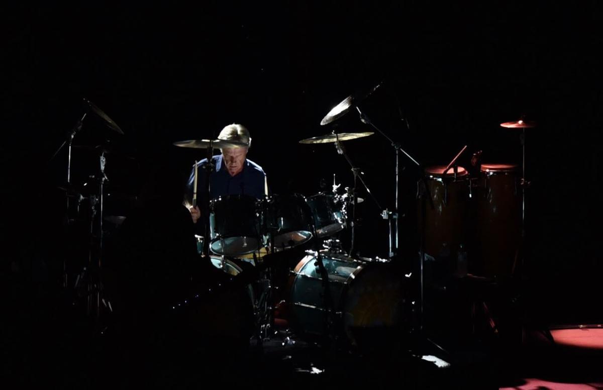 09/11/21 Kansas performs at Tippecanoe Amphitheater, Drummer Phil Ehart