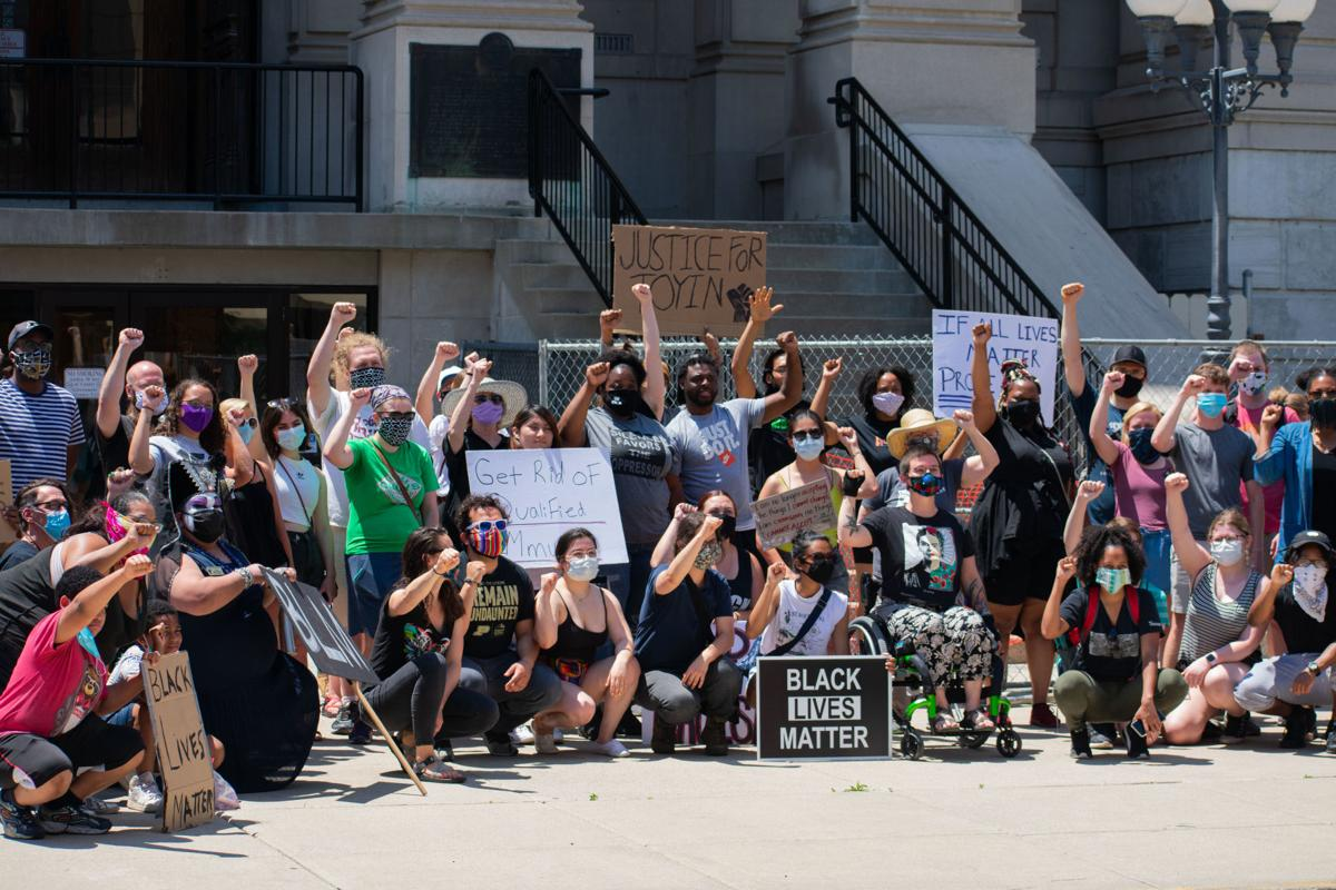6/16 Protest: Crowd II