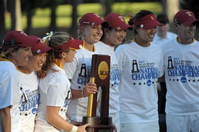 5/24/13 NCAA Women Golf, USC team