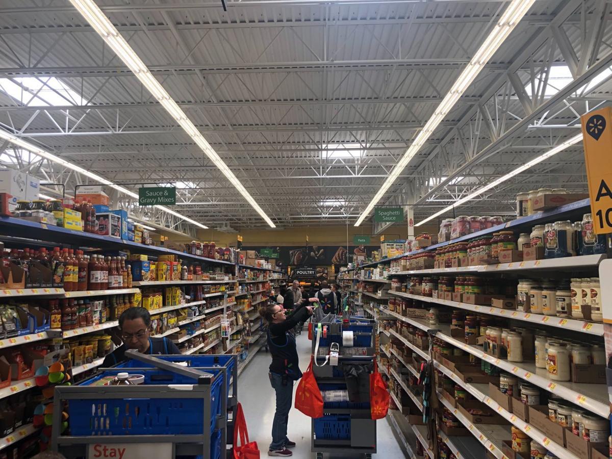 3/22/20 Walmart panic buying