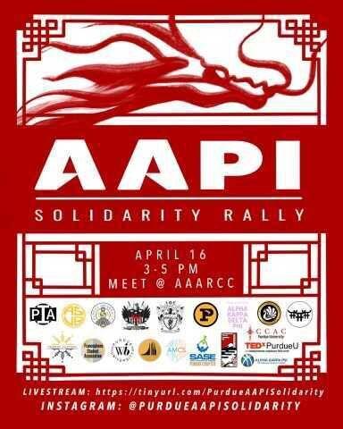 4/14/21 Purdue AAPI Solidarity Rally