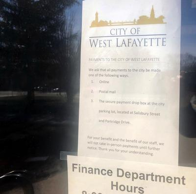 3/13/20 Temporary West Lafayette City Hall