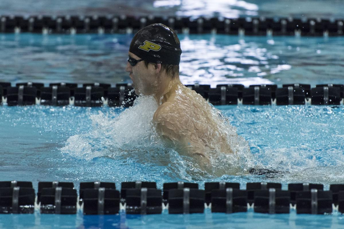 Purdue Swim And Dive Men 39 S Swimming Wins All 10 Events At Indiana Intercollegiates Swimming