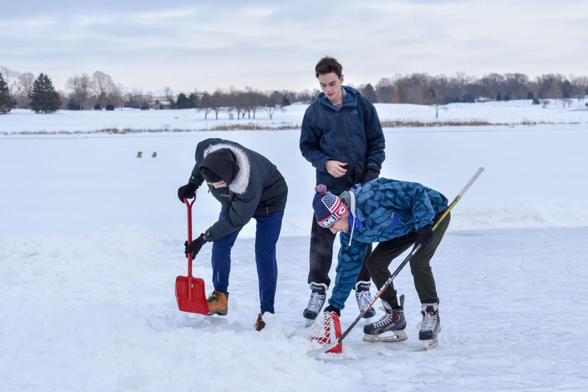 2/14/21 Celery Bog Ice Skating, Brian Anderson, Jack McCormick, Jeremy Ahn